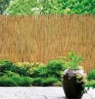 cloture de jardin roseau