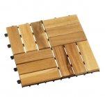 dalles de sol en bois