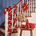 decoration avec boules de noel