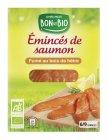 eminces de saumon fume bio