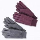 gants adulte cuir velours