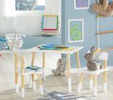 photo Lot de 2 chaises et 1 table enfant