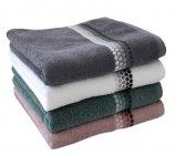 lot de 2 serviettes de bain