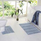 lot de 2 tapis de salle de bains