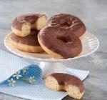 lot de 4 donuts au chocolat
