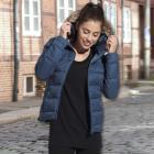 manteau matelasseacute femme