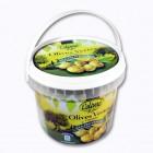 olives vertes casseacutees