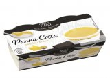 panna cotta et coulis mangue-fruit de la passion
