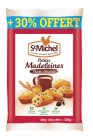 photo Petites madeleines aux pépites de chocolat StMichel