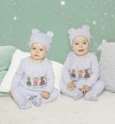 pyjama de noel bebe avec bonnet