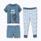 pyjama garccedilon 3 piegraveces