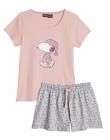 pyjama short ou chemise de nuit avec licence