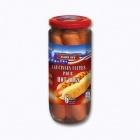 photo Saucisses cuites fumées pour hot-dog