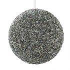 boule a paillettes coloris argente - d245cm paillette