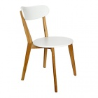 chaise design scandinave coloris blanc siwa