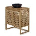 meuble de salle de bains en bambou 80cm danong
