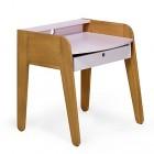 petit bureau vintage rose pour enfant vintage