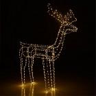 renne lumineux 480 microled - h140cm renne