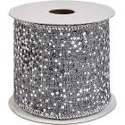 ruban decoratif argente - 3m ruban