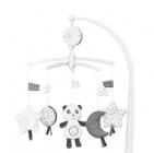 chao chao mobile musical panda de sauthon baby deco