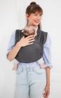 echarpe de portage extensible bio tricot-slen babylonia