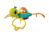 jouet de table tortue multicolore de infantino