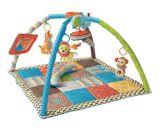 tapis de jeu twist fold bleu / vert de infantino