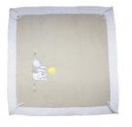 winnie lets party tapis de parc 100x100 cm beige de disney