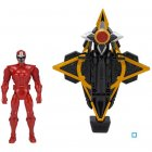 bandai power rangers - vehicule mega morph ninja steel
