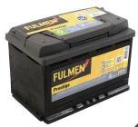 batterie fulmen 680a 74ah fp7
