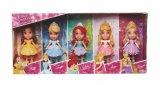 coffret 5 minis poupees princesses disney
