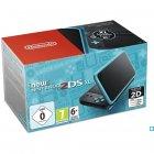 console new nintendo 2ds xl noir/turquoise
