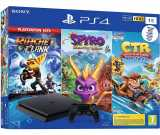 console ps4 sony 1 to noir pack famille 3 jeux