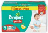 photo Culottes baby-dry pants méga+ pampers