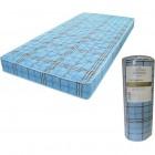 matelas mousse 90x190 cm cartagena bleu