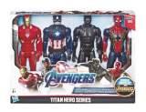 pack de 4 figurines avengers