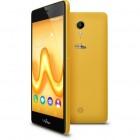 pack smartphone et coque wiko - tommy - jaune