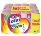 papier toilette lotus confort rose