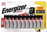 piles max lr6 ou lr3 energizer