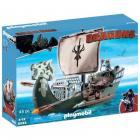 playmobil 9244 - drago et vaisseau dattaque