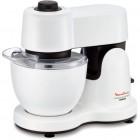 robot patissier masterchef compact moulinex qa216110 blanc