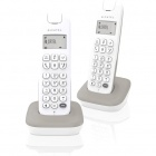 telephone fixe alcatel - d185 voice - blanc