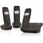 telephone fixe gigaset - al117a trio - noir