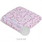 couverture de lit ps pink blossom little dutch