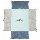 cube de parc 95x75cm jack jules nestor bleu/gris nattou