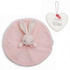 doudou perle lapin rond pendentif mon bebe offert de kalo