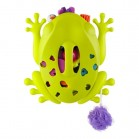 frog pod rangement-egouttoir grenouille vert boon