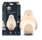 tommee tippee grobrite - veilleuse pingouin nomade blanc