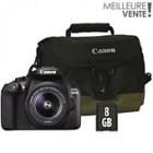 appareil photo reflex canon eos 1300d 18-55 dc iii etui