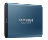 disque ssd externe samsung portable ssd t5 500go bleu